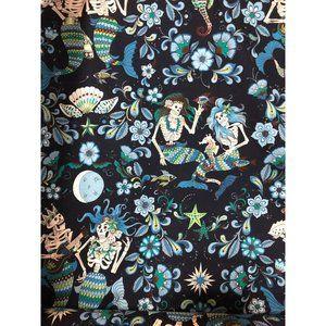 1 Yard Alexander Henry Esqueletos Del Mar Fabric